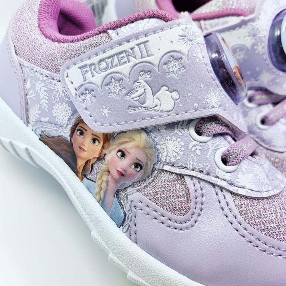 台灣製冰雪奇緣電燈運動鞋-紫色