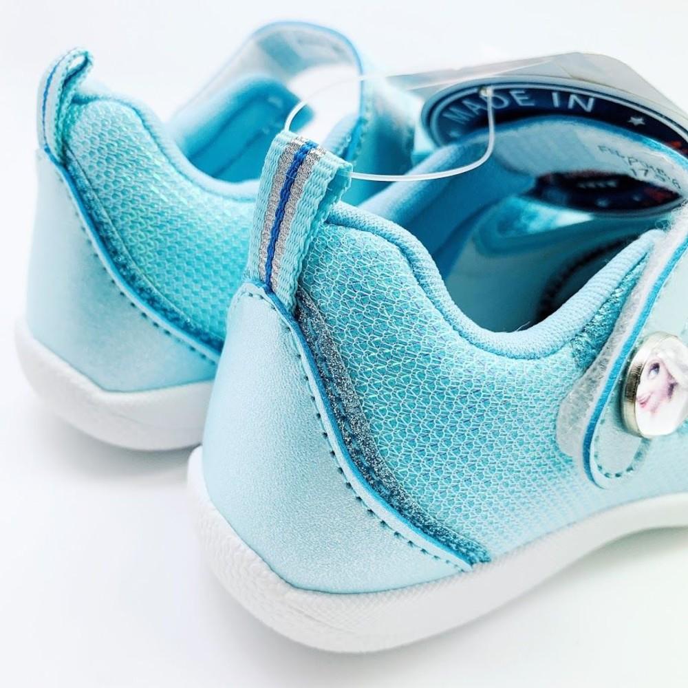 台灣製冰雪奇緣公主休閒鞋-水藍