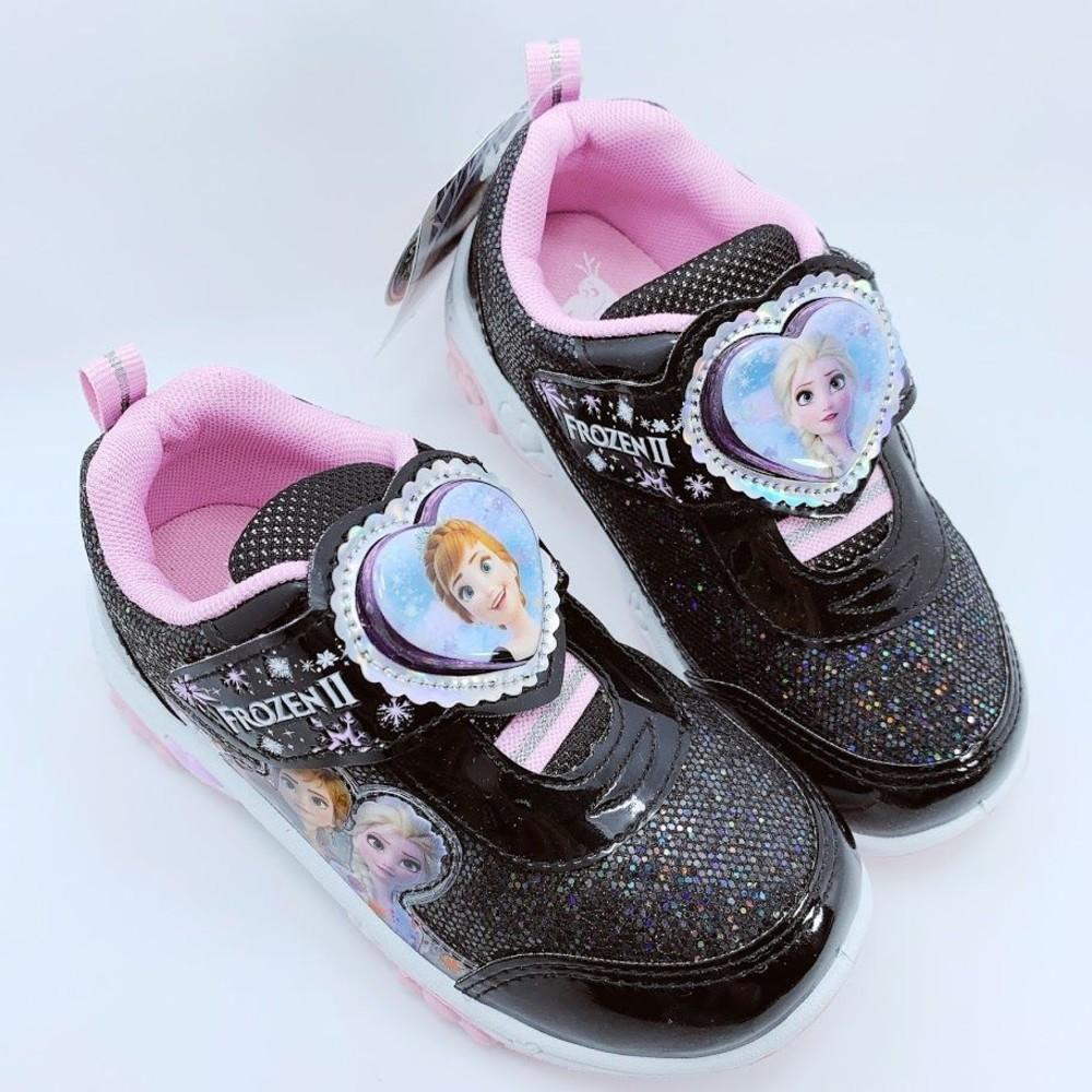 F037 - 【台灣製現貨】冰雪奇緣運動燈鞋