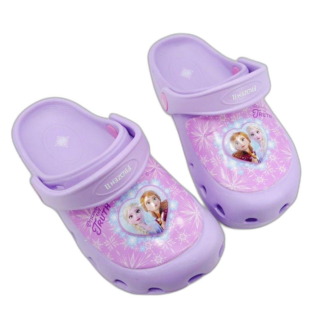 F038-【台灣製現貨】冰雪奇緣閃燈布希鞋