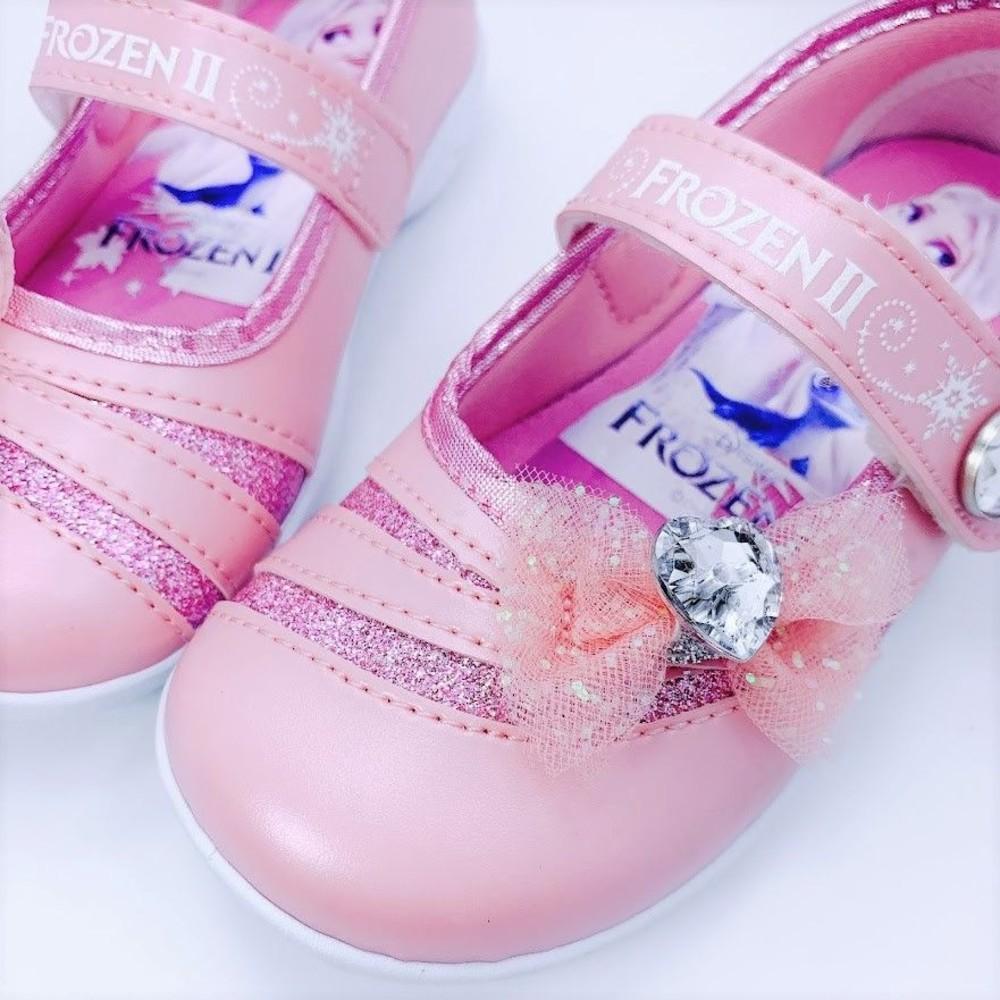 【台灣製現貨】冰雪奇緣2鑽飾公主鞋-粉色