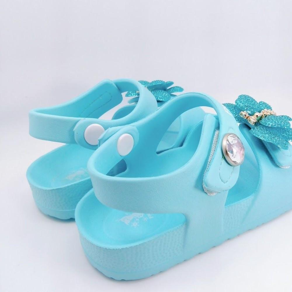 台灣製冰雪奇緣2涼鞋-水藍