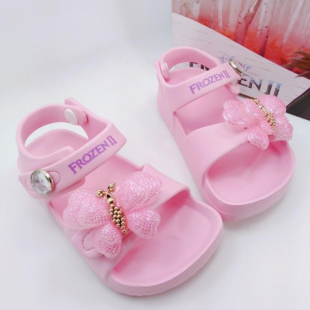 F050-台灣製冰雪奇緣2涼鞋-粉色