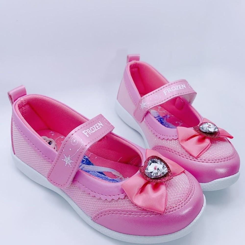 F052 - 台灣製冰雪奇緣2休閒鞋-粉色