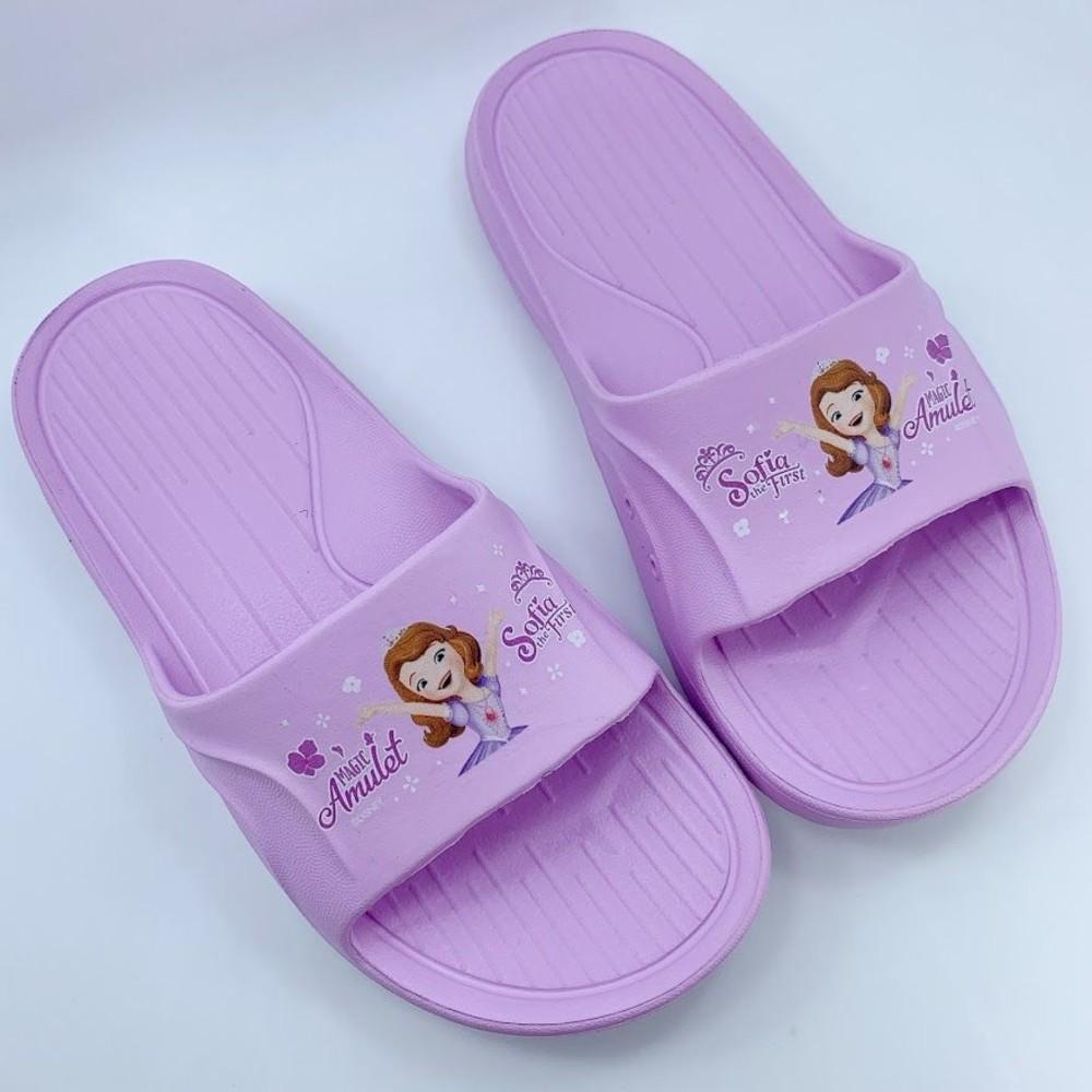 F057-台灣製蘇菲亞小公主拖鞋