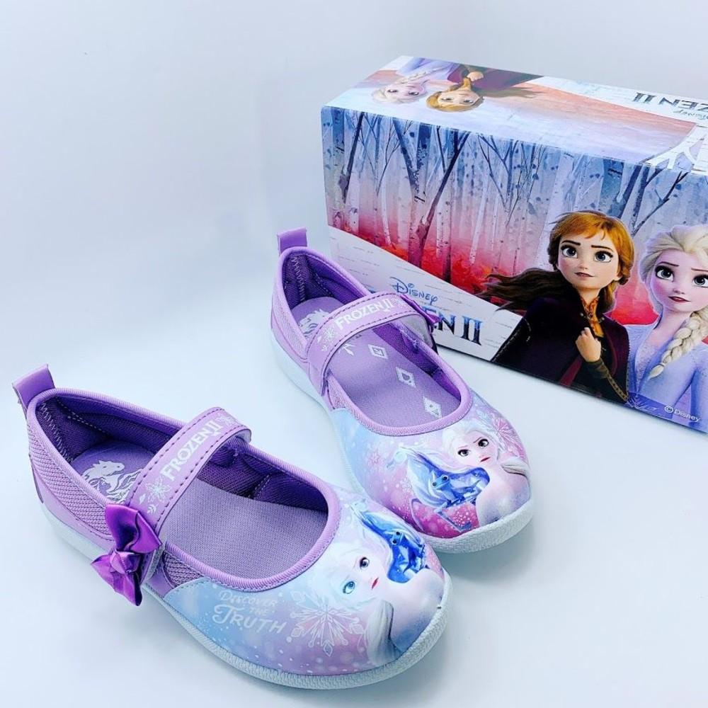 F060-1-台灣製冰雪奇緣2休閒鞋-紫色