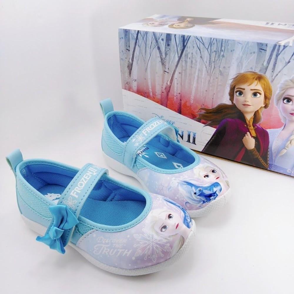 F060-台灣製冰雪奇緣2休閒鞋-藍色
