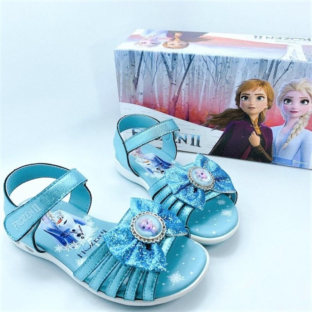 台灣製冰雪奇緣涼鞋-藍色