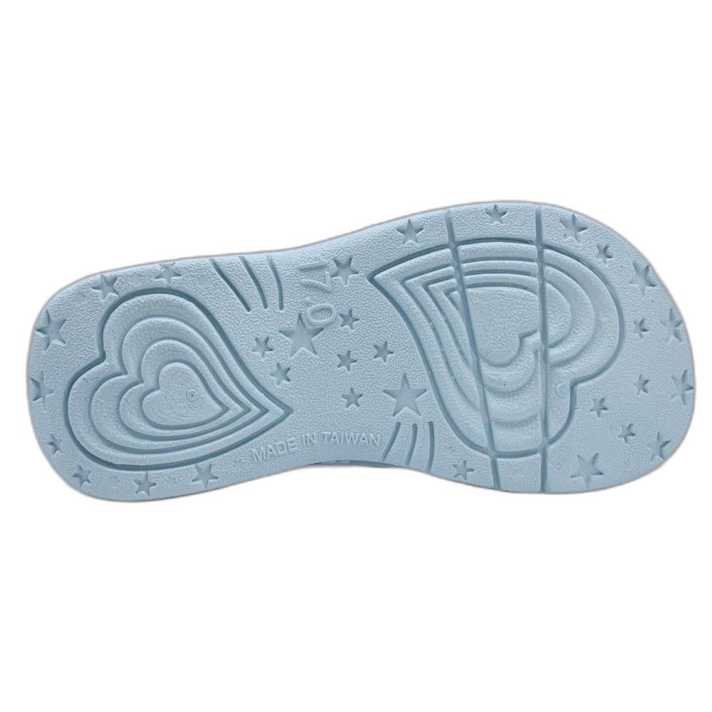 台灣製冰雪奇緣拖鞋-紫色