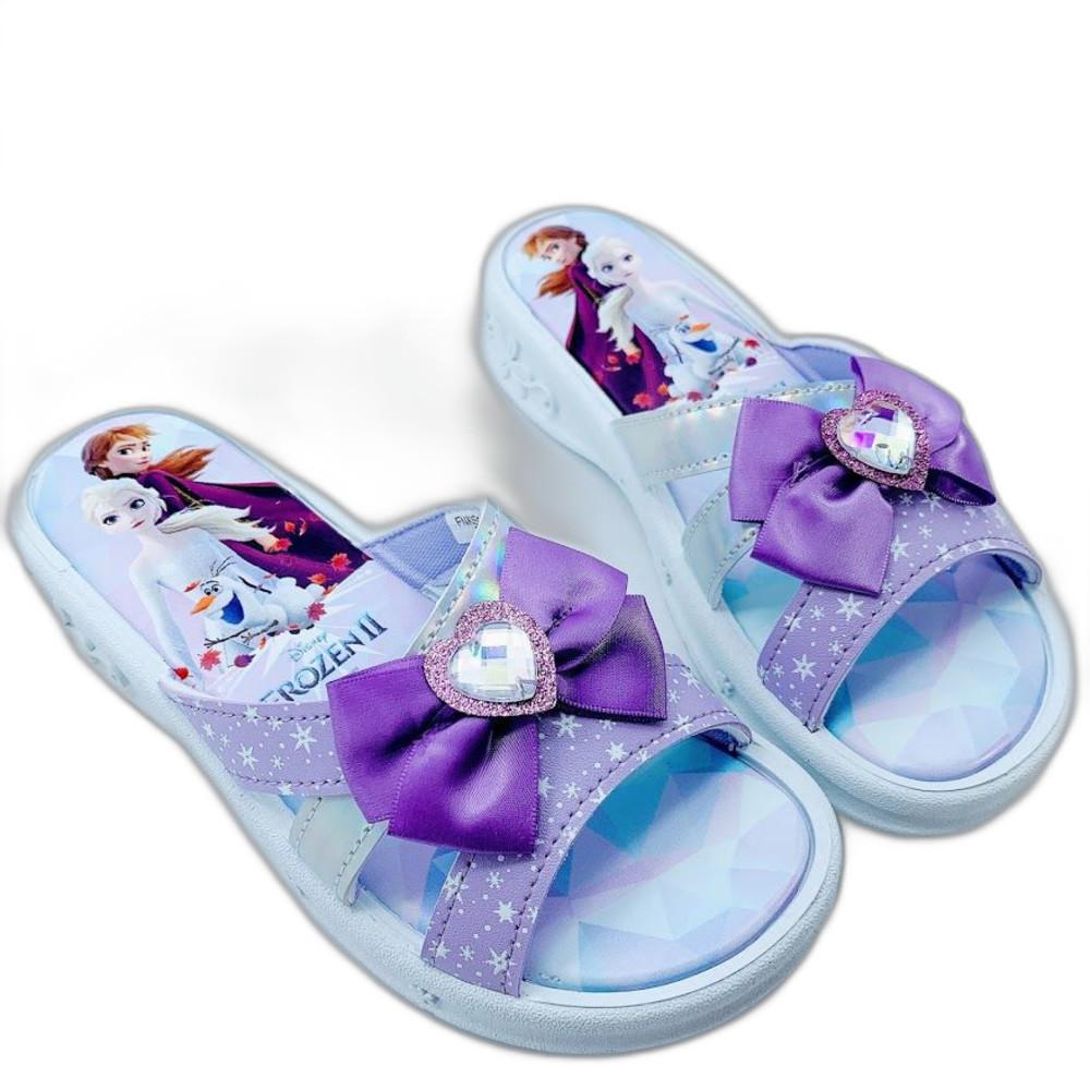 台灣製冰雪奇緣拖鞋-粉色