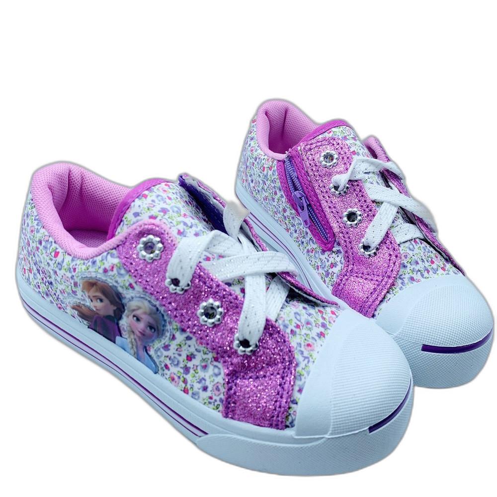 F073-1-台灣製冰雪奇緣2休閒鞋-紫色