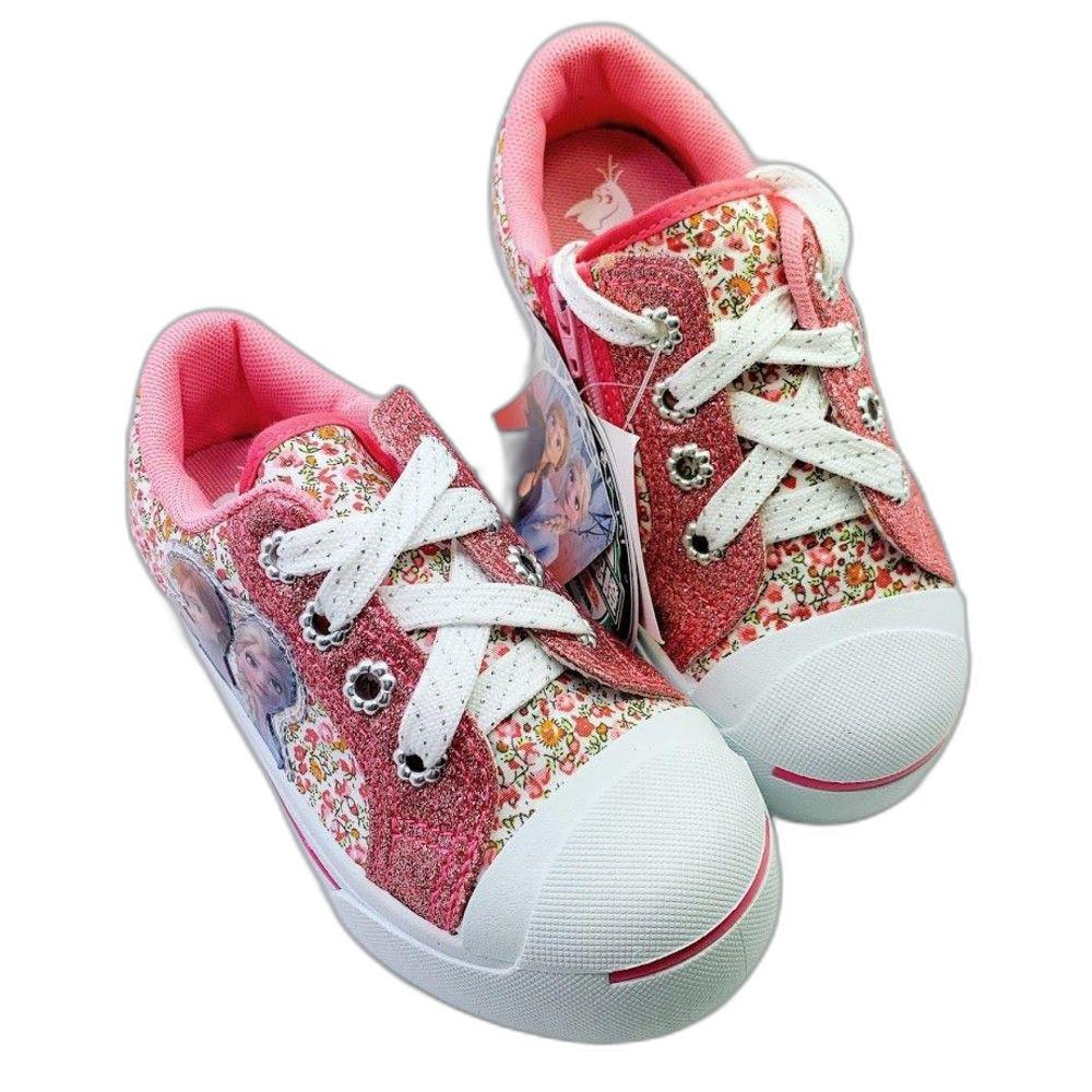 F073-2-台灣製冰雪奇緣2休閒鞋-粉紅