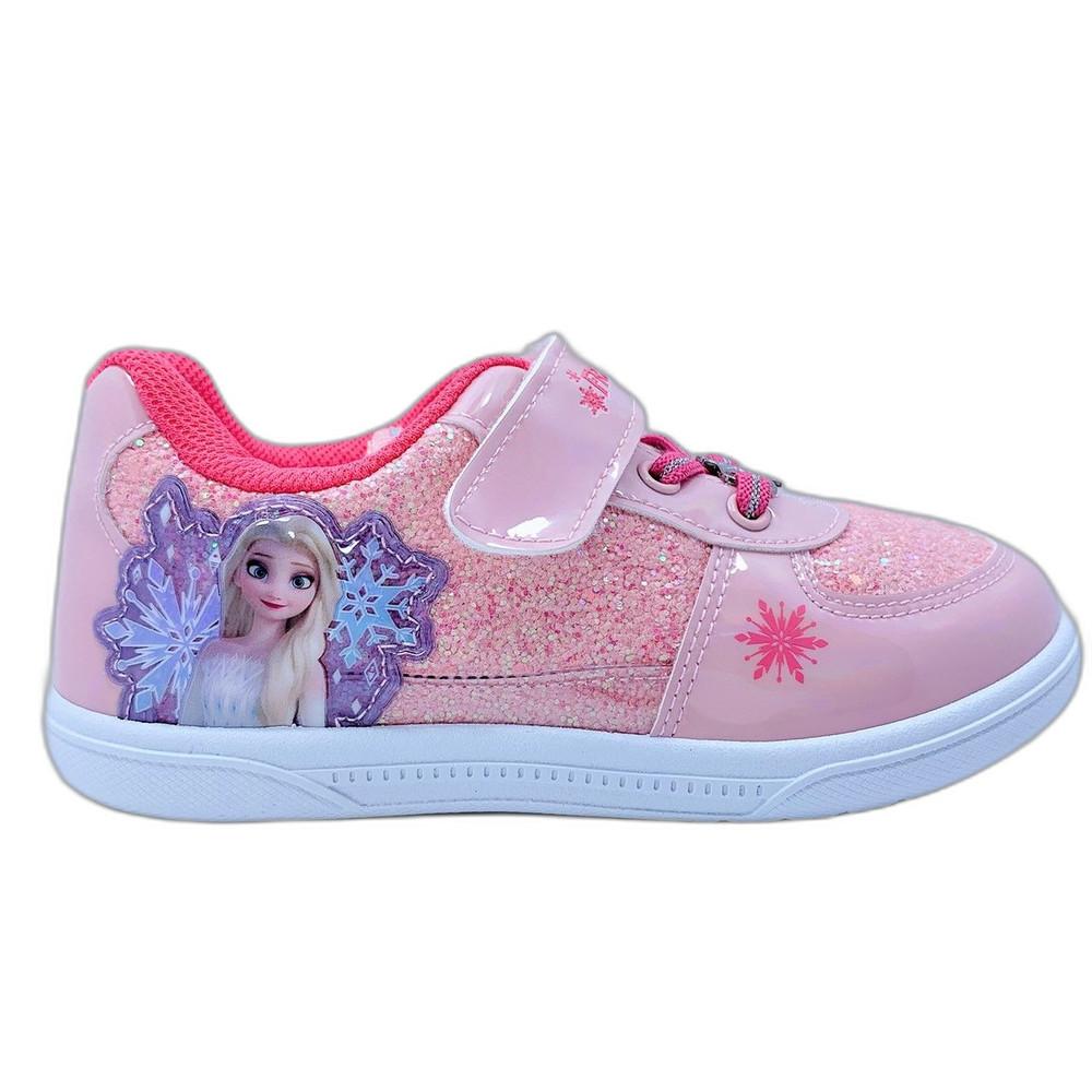 台灣製冰雪奇緣休閒鞋-粉色