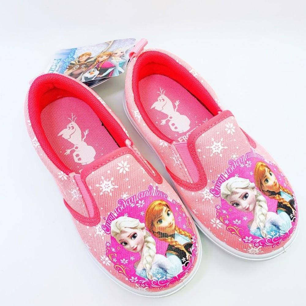 FO002-【台灣製現貨】冰雪奇緣休閒鞋-粉色
