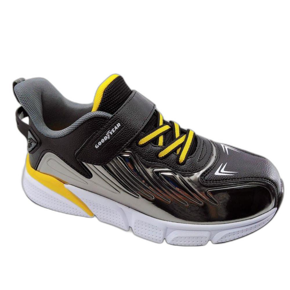 G006-GOODYEAR輕量緩震運動鞋-銀