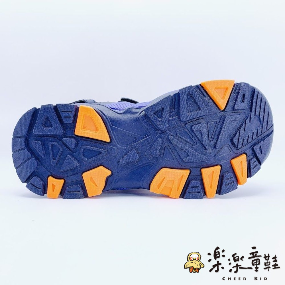GOODYEAR大童機能涼鞋-藍橘