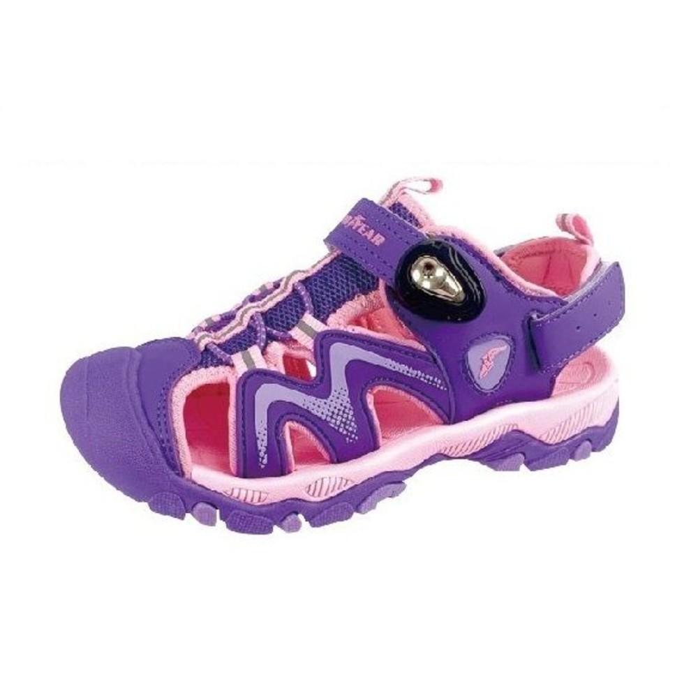 G009-GOODYEAR大童涼鞋-紫粉