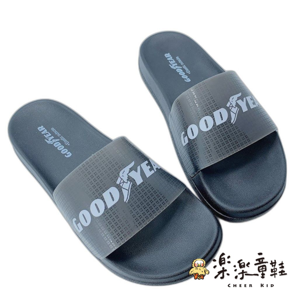 GOODYEAR果凍Q彈拖鞋-粉