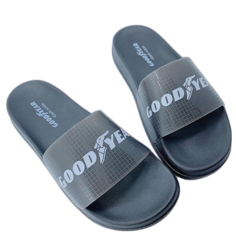 GOODYEAR果凍Q彈拖鞋-紫