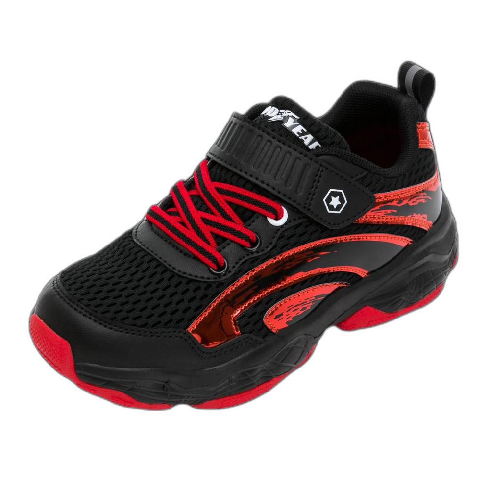 GOODYEAR輕量緩震運動鞋-黑白