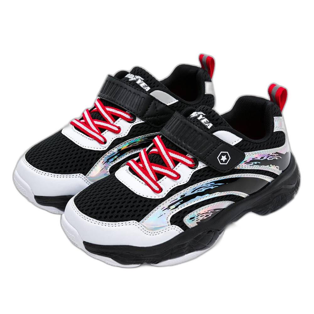 G024-1 - GOODYEAR輕量緩震運動鞋-黑白