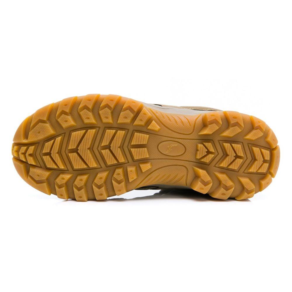 GOODYEAR機能健行鞋-棕色