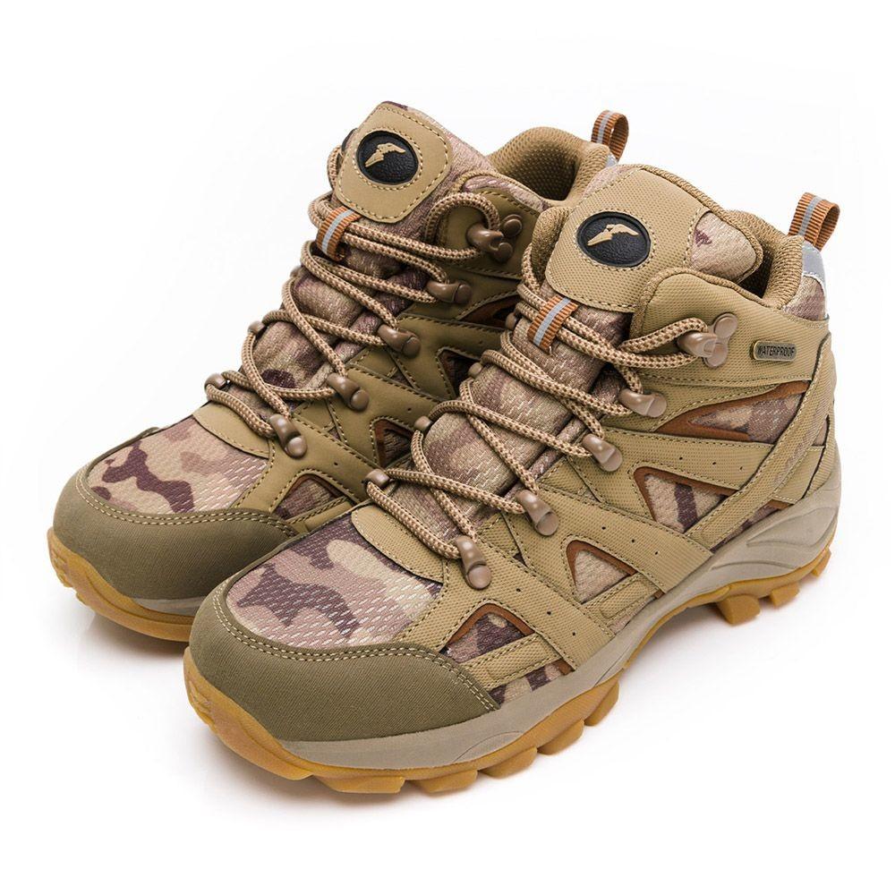 G025-GOODYEAR機能健行鞋-棕色