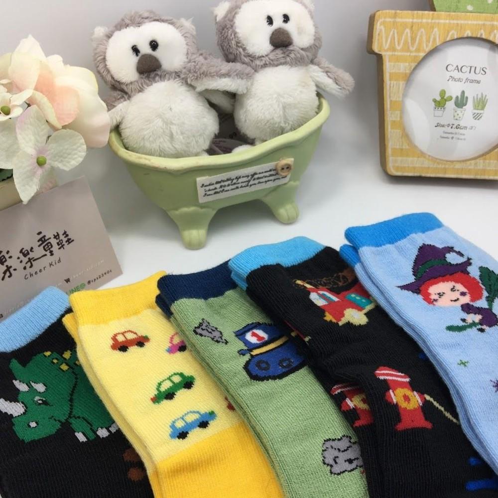 童鞋 台灣製防滑兒童襪(1組5雙)