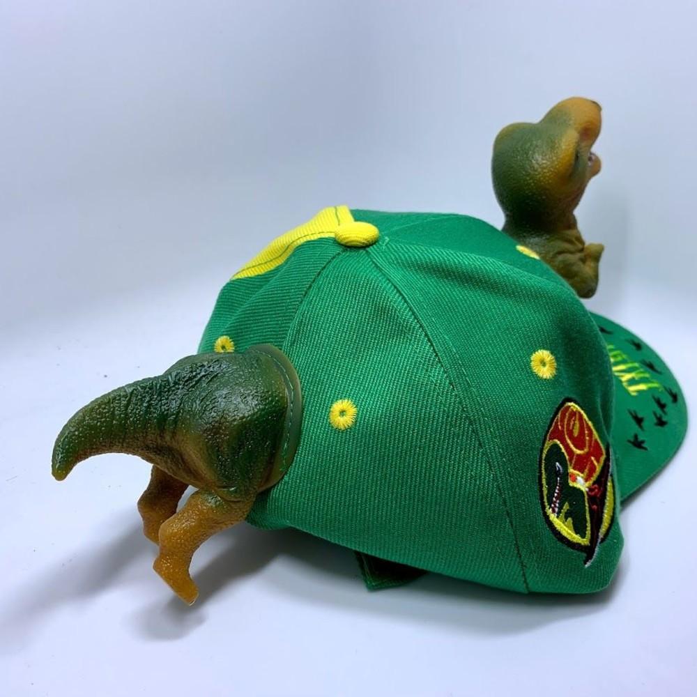 立體恐龍親子帽