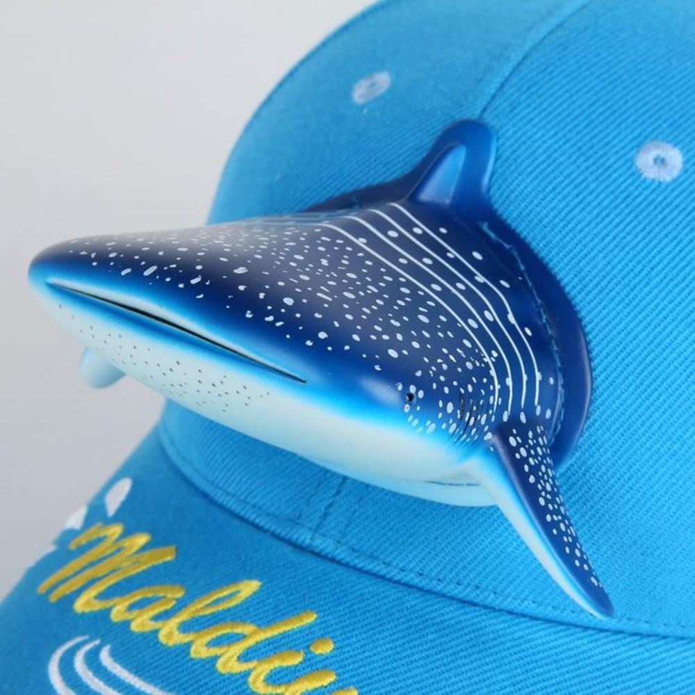 立體鯊魚親子帽