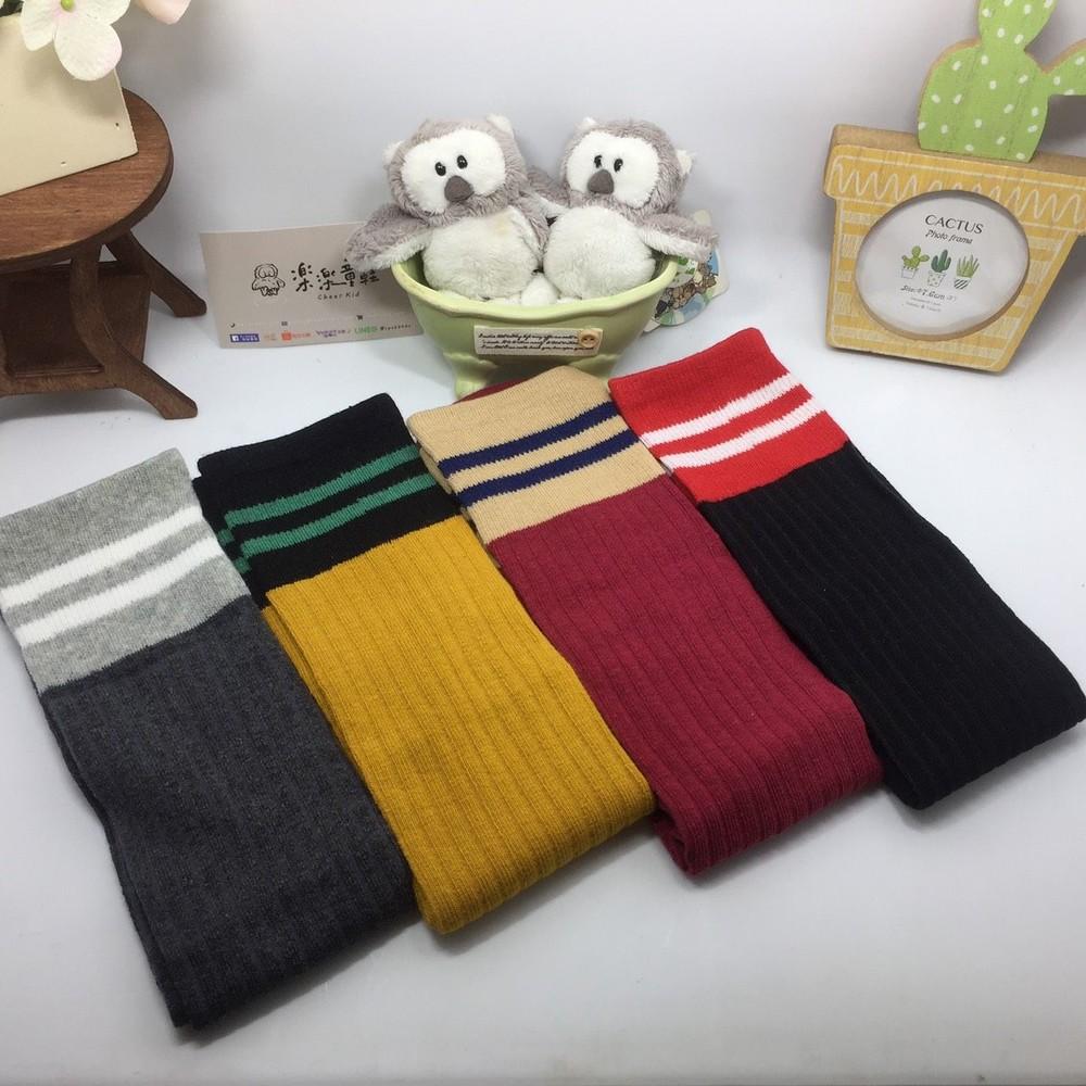 H021-素面針織長筒襪