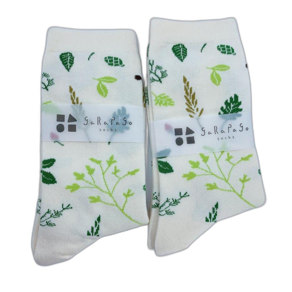 【garapago socks】日本設計台灣製長襪-藥草圖案 封面照片