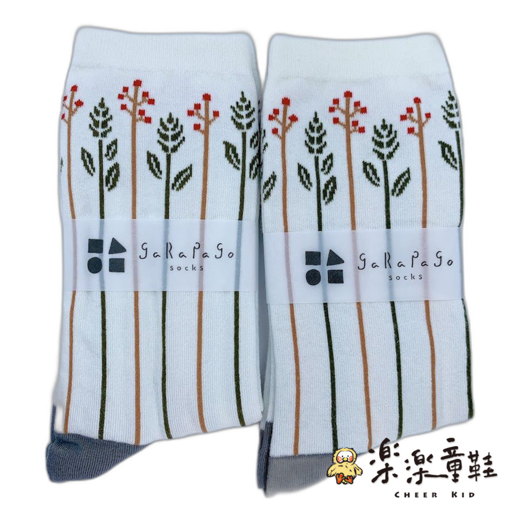 J021-2-【garapago socks】日本設計台灣製長襪-草圖案