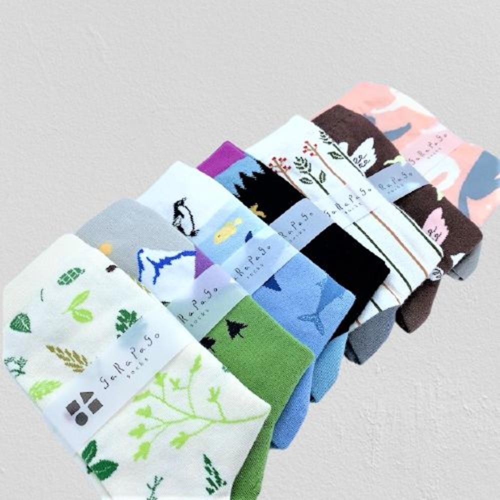 J021-【garapago socks】現貨日本設計台灣製長襪
