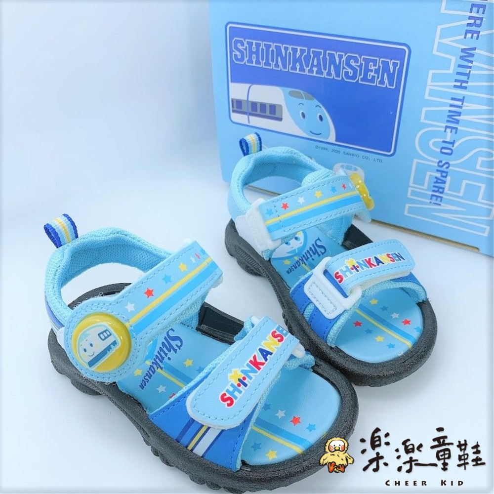 K005-台灣製三麗鷗新幹線電燈涼鞋