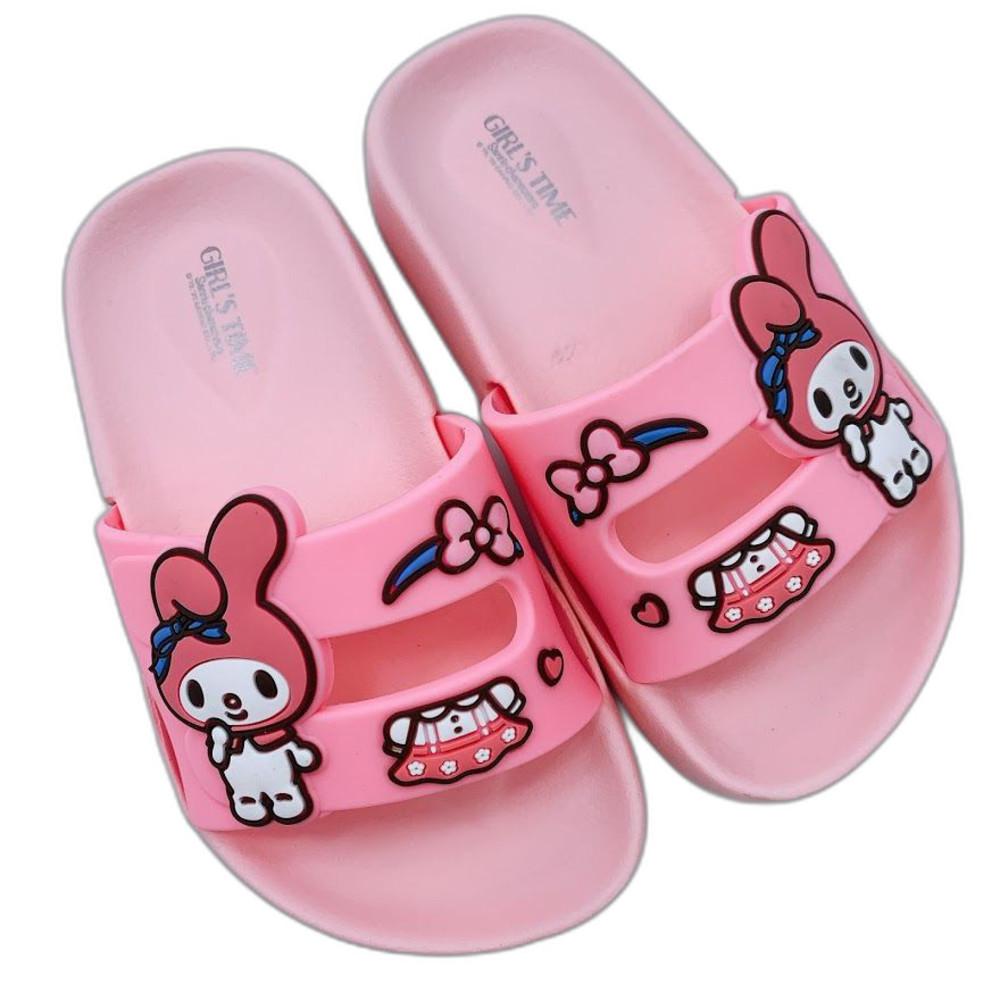 K008-3-台灣製三麗鷗經典人氣明星拖鞋-美樂蒂