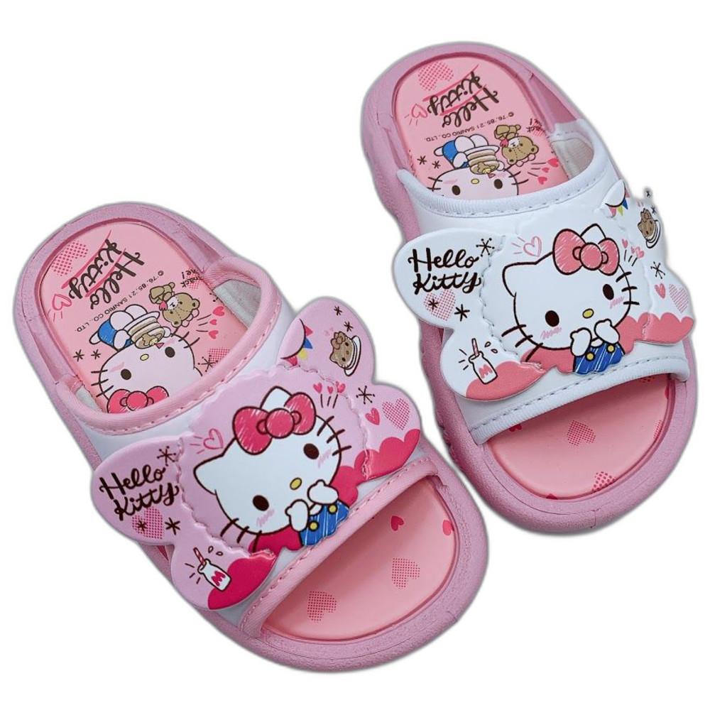 台灣製Hello Kitty拖鞋-白色