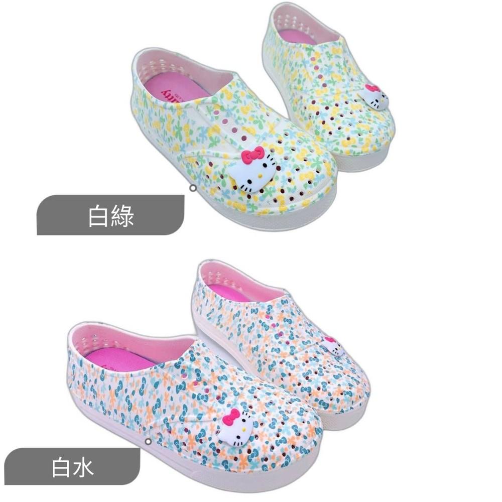 台灣製Hello Kitty洞洞鞋 封面照片