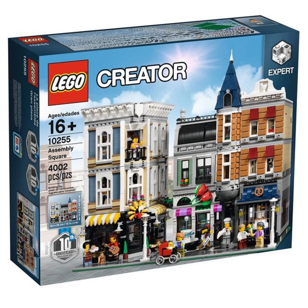 LEGO 10255 - 樂高 Creator 集會廣場 (10週年) 街景系列 封面照片