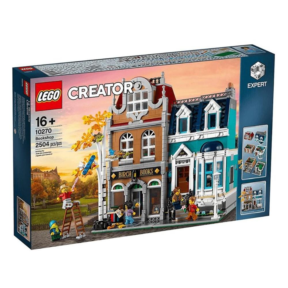 LEGO-10270-LEGO 10270 - 樂高 Creator 書店 街景系列