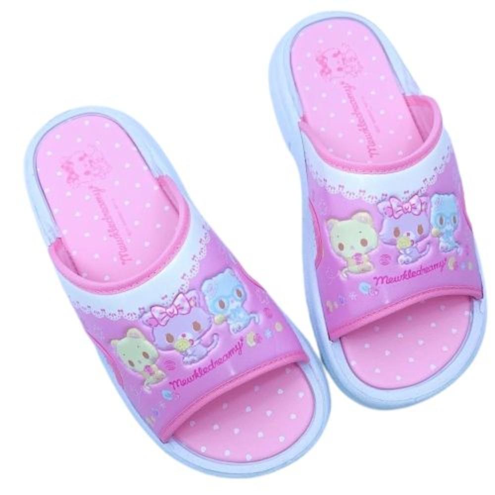 M001-台灣製萌可魯玩偶貓拖鞋