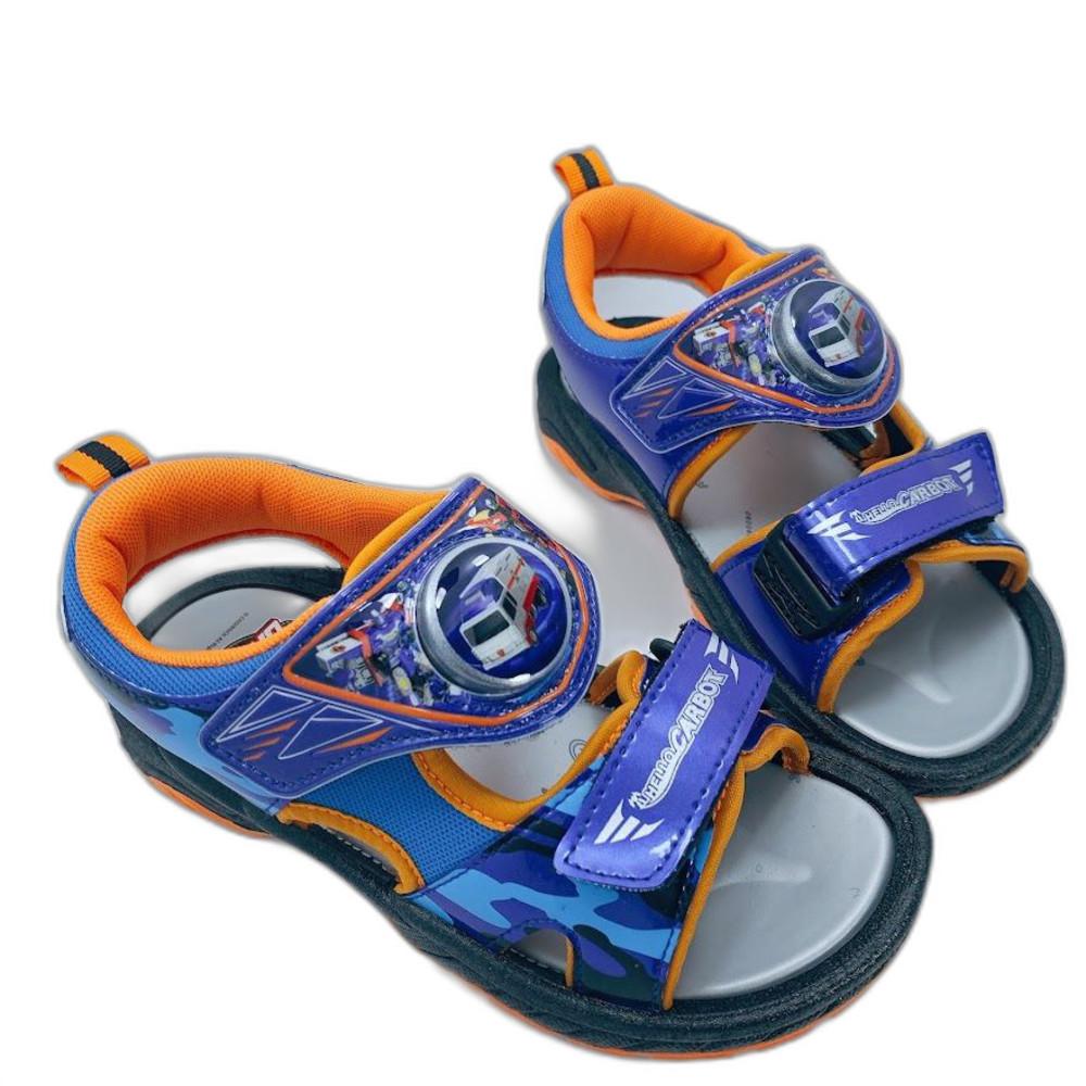 MN030-台灣製衝鋒戰士酷炫電燈涼鞋