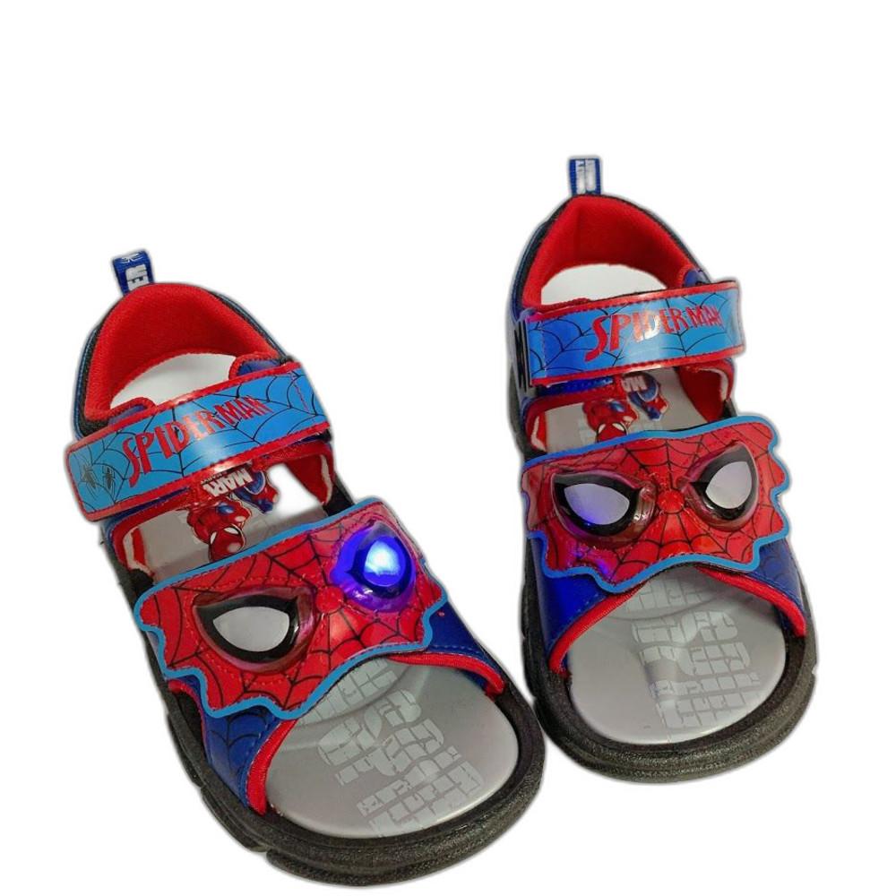 MN031-台灣製蜘蛛人電燈涼鞋