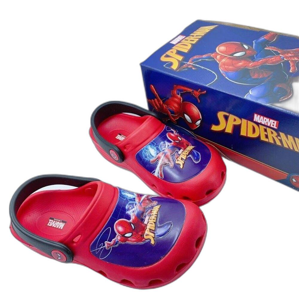 童鞋 台灣製蜘蛛人布希鞋-紅色