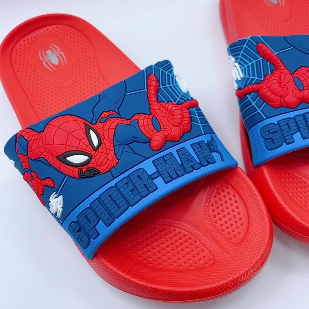 台灣製蜘蛛人拖鞋-紅色