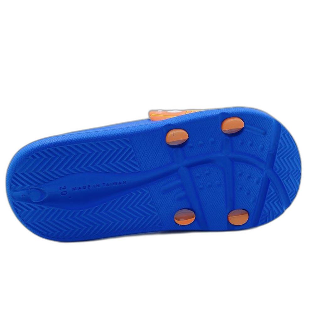 台灣製蜘蛛人拖鞋-藍色