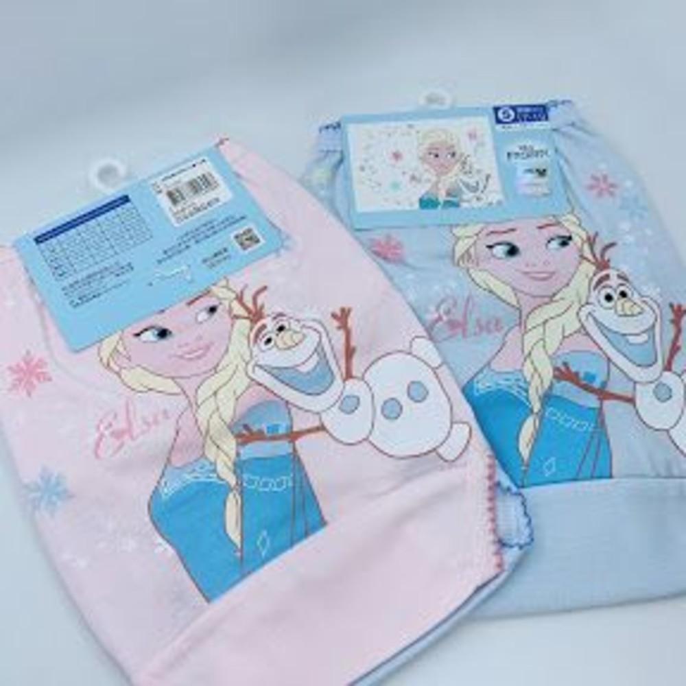 P043-4-台灣製冰雪奇緣兒童三角內褲(四入)