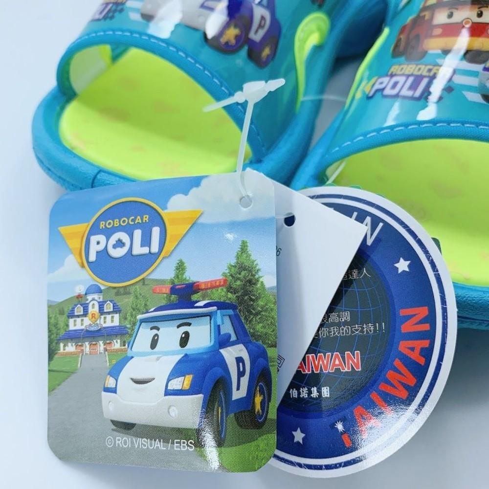 台灣製POLI救援小隊拖鞋