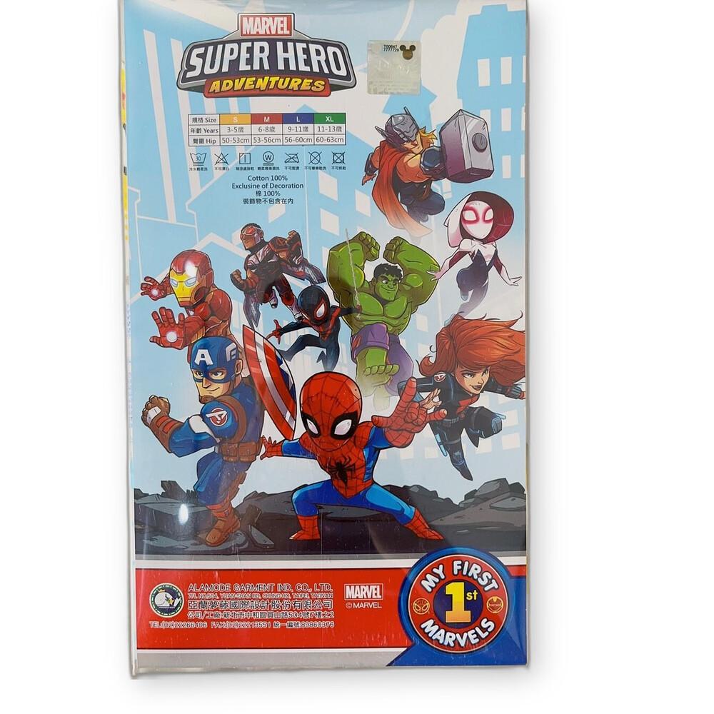 台灣製男童三角內褲(六件組)—復仇者聯盟款