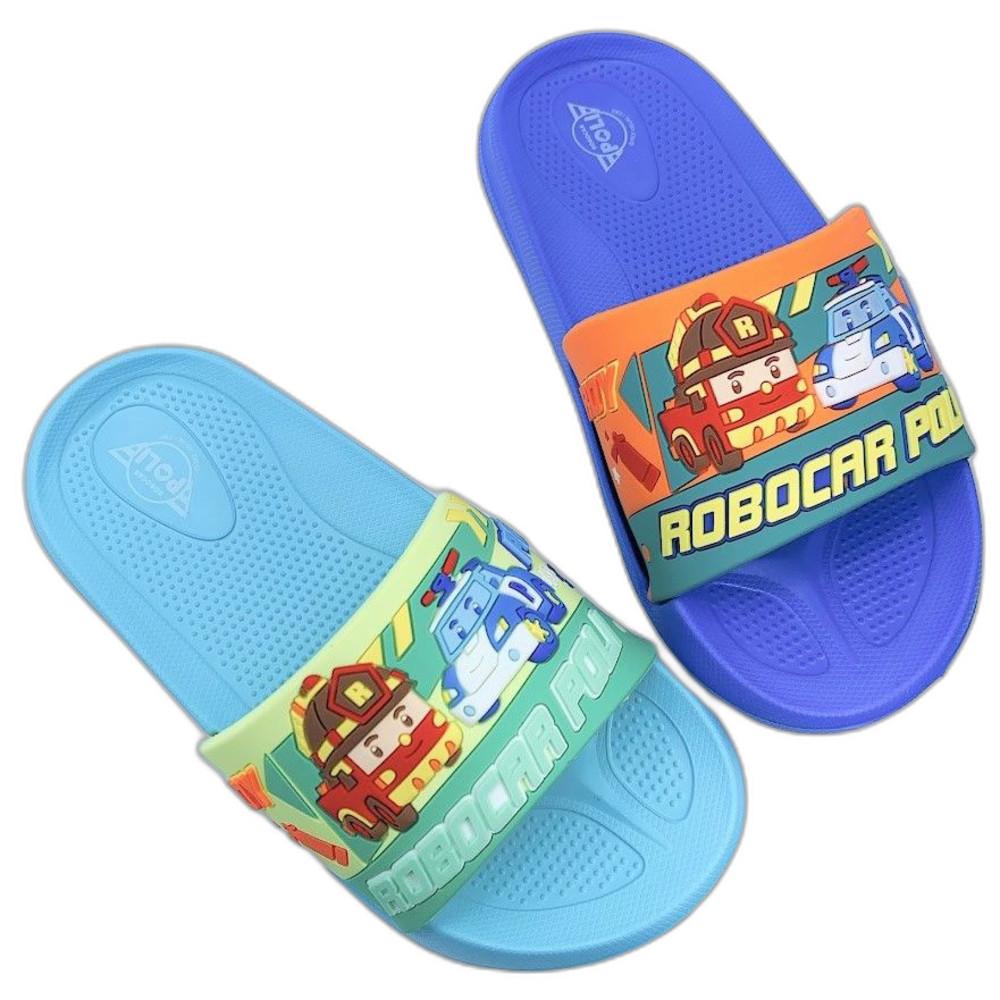 P062-2-台灣製POLI救援小隊拖鞋